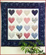 Country Hearts Quilt Kit